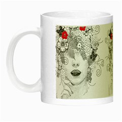 Flower Child Glow In The Dark Mug by StuffOrSomething