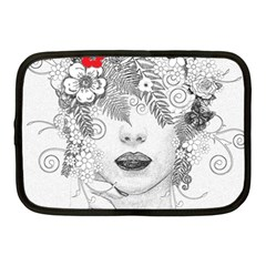 Flower Child Netbook Sleeve (medium) by StuffOrSomething