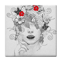 Flower Child Face Towel by StuffOrSomething