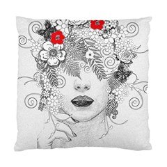 Flower Child Cushion Case (two Sided)  by StuffOrSomething