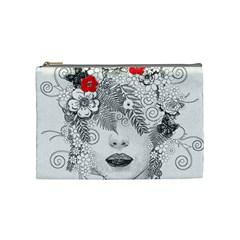 Flower Child Cosmetic Bag (medium) by StuffOrSomething