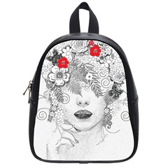 Flower Child School Bag (small) by StuffOrSomething