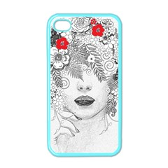 Flower Child Apple Iphone 4 Case (color) by StuffOrSomething
