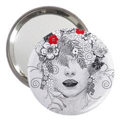 Flower Child 3  Handbag Mirror by StuffOrSomething