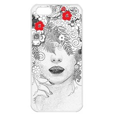Flower Child Apple Iphone 5 Seamless Case (white) by StuffOrSomething
