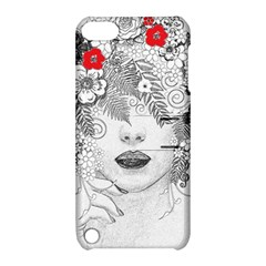Flower Child Apple Ipod Touch 5 Hardshell Case With Stand by StuffOrSomething