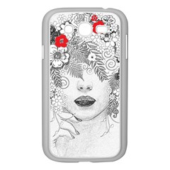 Flower Child Samsung Galaxy Grand Duos I9082 Case (white) by StuffOrSomething