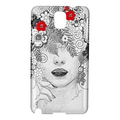 Flower Child Samsung Galaxy Note 3 N9005 Hardshell Case by StuffOrSomething