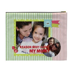 Mothers Day By Mom   Cosmetic Bag (xl)   Iu9u4xc8g8q8   Www Artscow Com Back