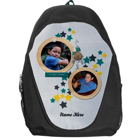 Backpack Bag: You By Jennyl   Backpack Bag   S2ucsmjfuelw   Www Artscow Com Front