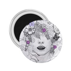 Flower Child Of Hope 2 25  Button Magnet by FunWithFibro