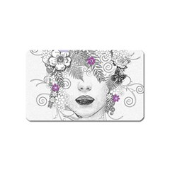 Flower Child Of Hope Magnet (name Card) by FunWithFibro