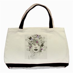 Flower Child Of Hope Classic Tote Bag by FunWithFibro