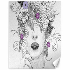 Flower Child Of Hope Canvas 12  X 16  (unframed) by FunWithFibro