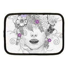 Flower Child Of Hope Netbook Sleeve (medium)