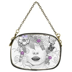 Flower Child Of Hope Chain Purse (one Side) by FunWithFibro