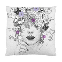 Flower Child Of Hope Cushion Case (two Sided)  by FunWithFibro