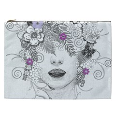 Flower Child Of Hope Cosmetic Bag (xxl) by FunWithFibro