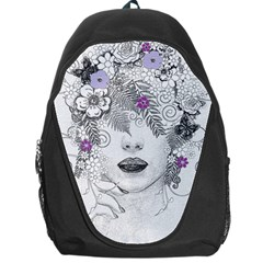 Flower Child Of Hope Backpack Bag by FunWithFibro