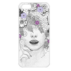 Flower Child Of Hope Apple Iphone 5 Seamless Case (white) by FunWithFibro