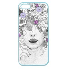 Flower Child Of Hope Apple Seamless Iphone 5 Case (color) by FunWithFibro