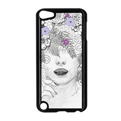 Flower Child Of Hope Apple Ipod Touch 5 Case (black) by FunWithFibro