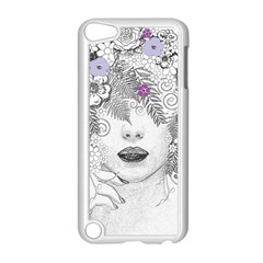 Flower Child Of Hope Apple Ipod Touch 5 Case (white) by FunWithFibro