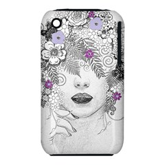Flower Child Of Hope Apple Iphone 3g/3gs Hardshell Case (pc+silicone) by FunWithFibro
