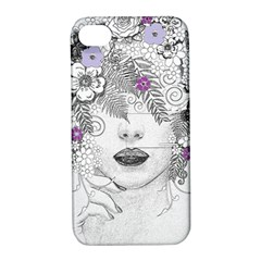 Flower Child Of Hope Apple Iphone 4/4s Hardshell Case With Stand by FunWithFibro