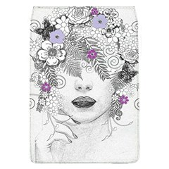 Flower Child Of Hope Removable Flap Cover (large) by FunWithFibro