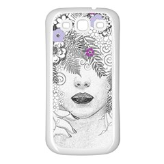 Flower Child Of Hope Samsung Galaxy S3 Back Case (white) by FunWithFibro