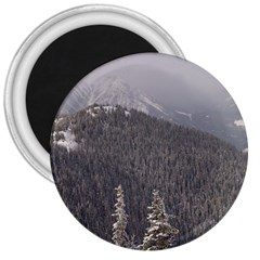 Mountains 3  Button Magnet by DmitrysTravels