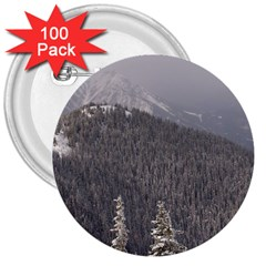 Mountains 3  Button (100 Pack) by DmitrysTravels