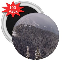 Mountains 3  Button Magnet (100 Pack) by DmitrysTravels
