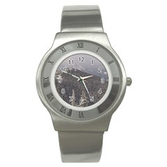 Mountains Stainless Steel Watch (slim) by DmitrysTravels