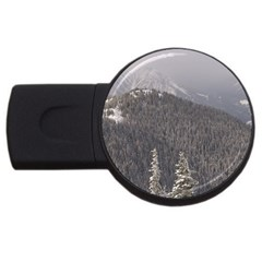 Mountains 4gb Usb Flash Drive (round) by DmitrysTravels