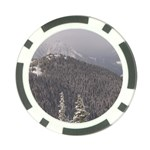 Mountains Poker Chip Back