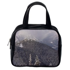 Mountains Classic Handbag (one Side) by DmitrysTravels
