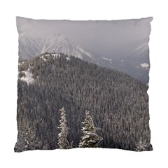 Mountains Cushion Case (two Sided)  by DmitrysTravels