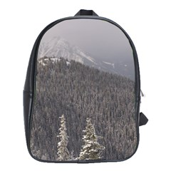 Mountains School Bag (large) by DmitrysTravels