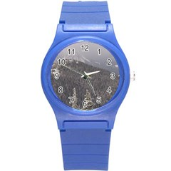 Mountains Plastic Sport Watch (small) by DmitrysTravels