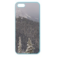 Mountains Apple Seamless Iphone 5 Case (color) by DmitrysTravels