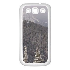 Mountains Samsung Galaxy S3 Back Case (white) by DmitrysTravels