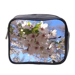 Sakura Mini Travel Toiletry Bag (two Sides) by DmitrysTravels