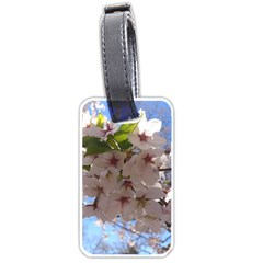 Sakura Luggage Tag (one Side) by DmitrysTravels