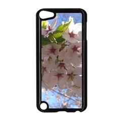 Sakura Apple Ipod Touch 5 Case (black) by DmitrysTravels