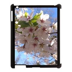 Sakura Apple Ipad 3/4 Case (black) by DmitrysTravels