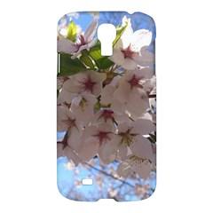 Sakura Samsung Galaxy S4 I9500/i9505 Hardshell Case by DmitrysTravels