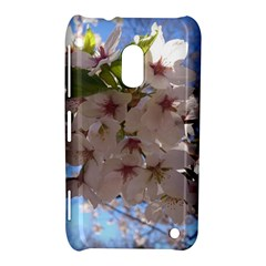 Sakura Nokia Lumia 620 Hardshell Case by DmitrysTravels