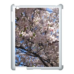 Sakura Tree Apple Ipad 3/4 Case (white) by DmitrysTravels